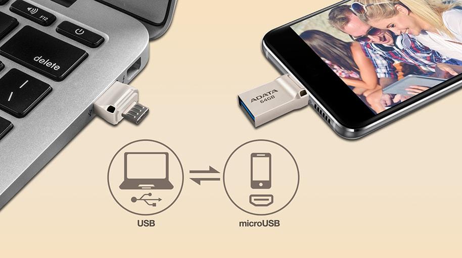 USB OTG ADATA UC360