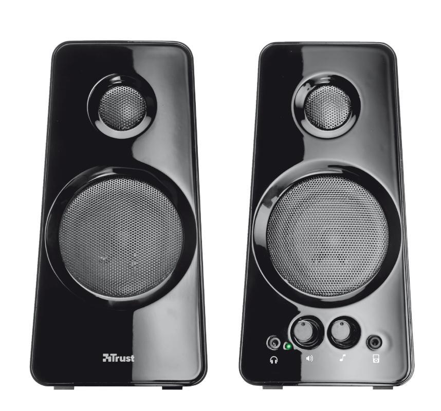 Reproduktory k PC Trust Tytan 2.0 Speaker Set