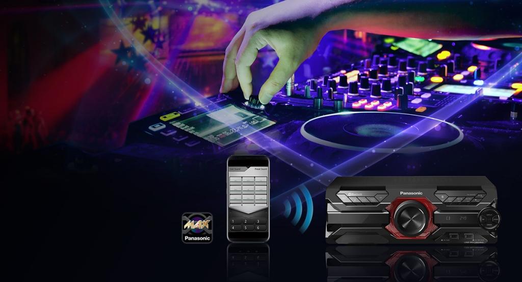 Minisystém Panasonic SC-AKX320E-K