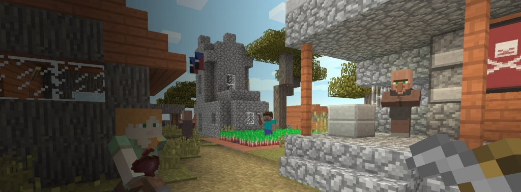 Hra Microsoft XBOX ONE - Minecraft Starter Collection
