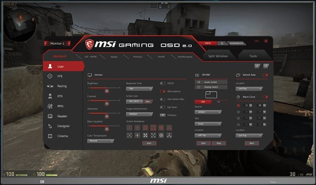 Herní monitor MSI Optix MAG272
