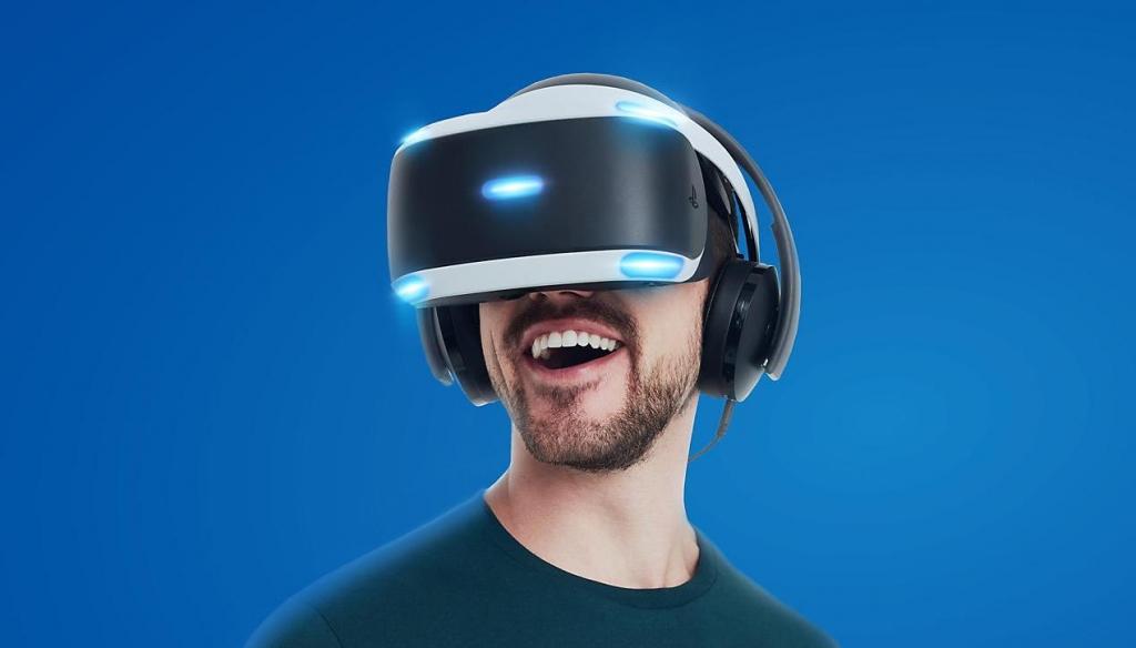 SONY PS4 Gold herní sluchátka VR