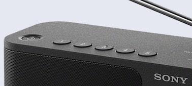 Přenosné DAB rádio SONY XDR-S61D