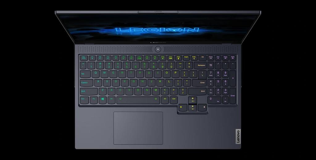 Lenovo Legion 7 klávesnice