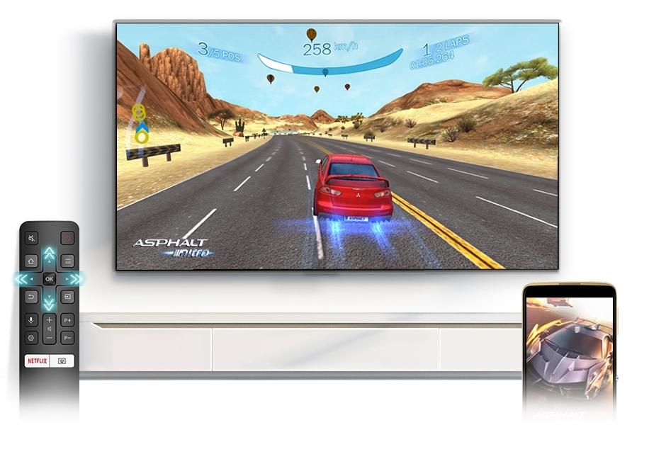 Smart televize TCL 55P615