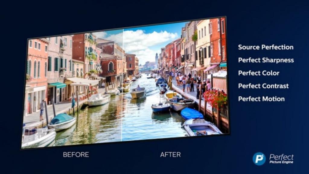 OLED televize Philips
