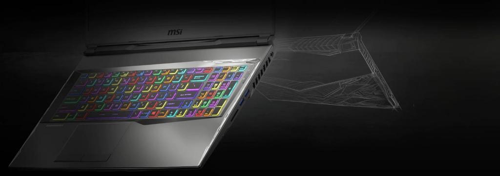Herní notebook MSI GL75 Leopard