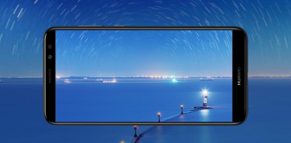 Detail displeju Huawei Mate 10 lite