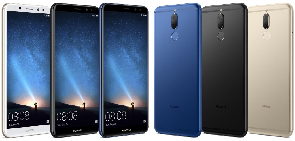 Farebné varianty Huawei Mate 10 lite