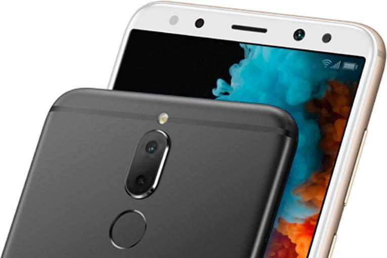 Detail kamery a čítačky odtlačkov prstov Huawei Mate 10 lite