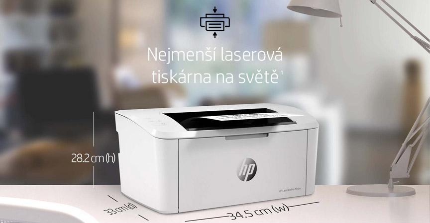 Laserová  tlačiareň HP LaserJet Pro M15w