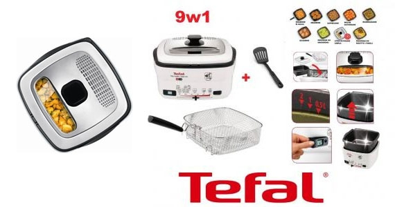 Fritéza Tefal Versalio Deluxe FR495070