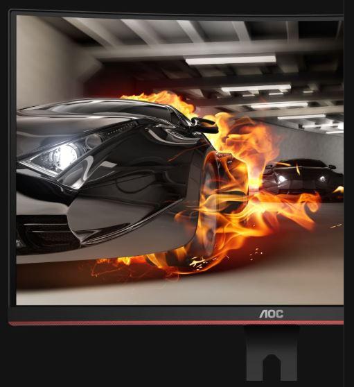 Prehnutý herný monitor AOC C27G1