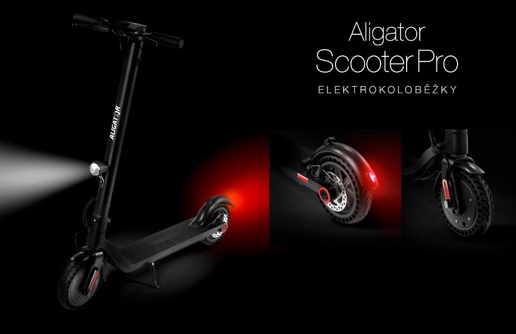 Elektrokoloběžka Aligator Scooter Pro
