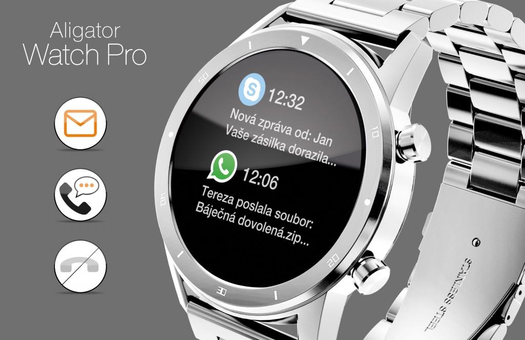 Chytré hodinky Aligator Watch PRO
