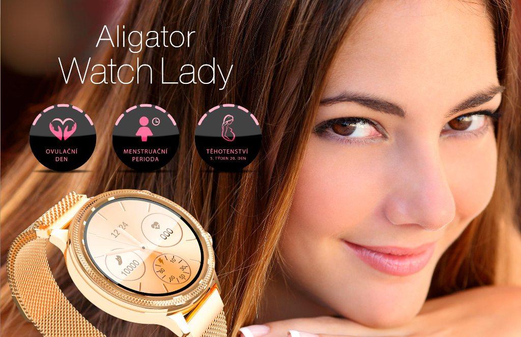 Dámske smart hodinky Aligator Watch Lady