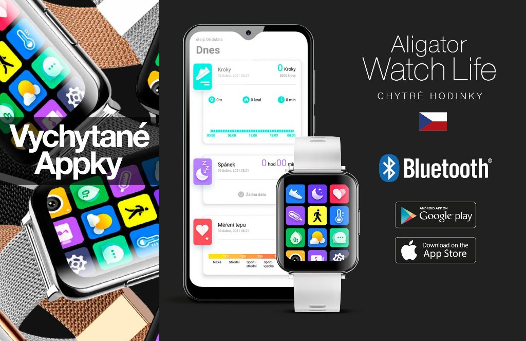 Aplikace Google Fit a Apple Health