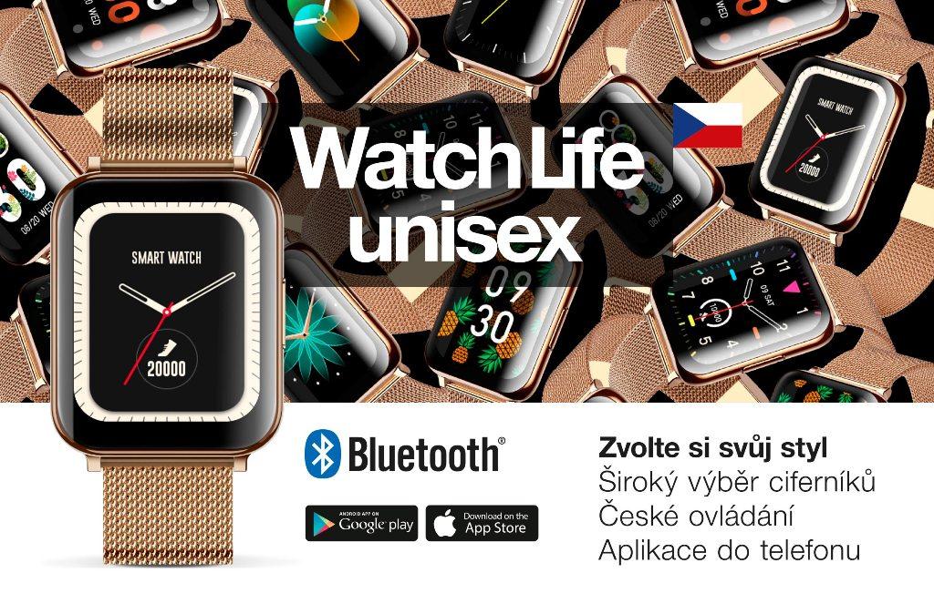 Chytré hodinky Aligator Watch Life