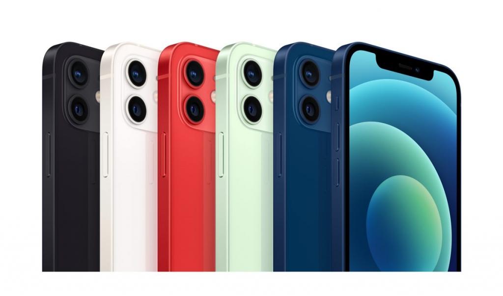 Farebné varianty Apple iPhone 12