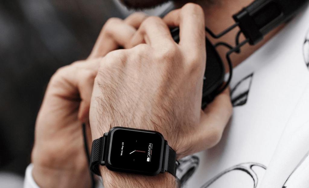 Chytré hodinky Canyon Sanchal