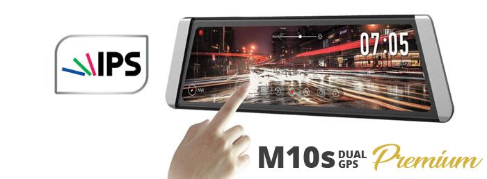 Autokamera Cel-tec M10s DUAL GPS Premium