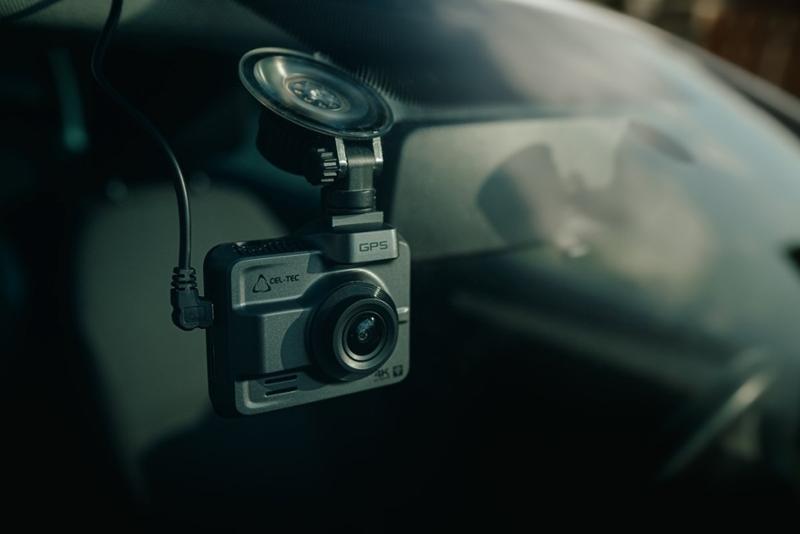 Autokamera Cel-tec K4 DUAL GPS