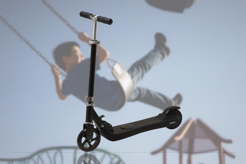 Elektrická kolobežka pre deti Denver SCK-5300, nosnosť 50kg,čierna