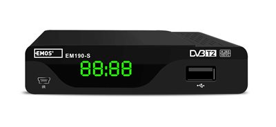 DVB-T2 set-top-box EMOS EM190-S
