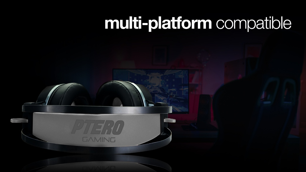 Herní sluchátka EVOLVEO Ptero GHX300