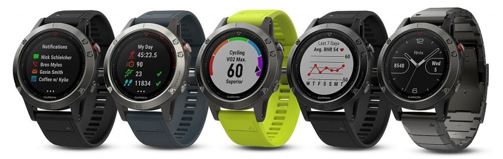 Smart hodinky Garmin Fenix5