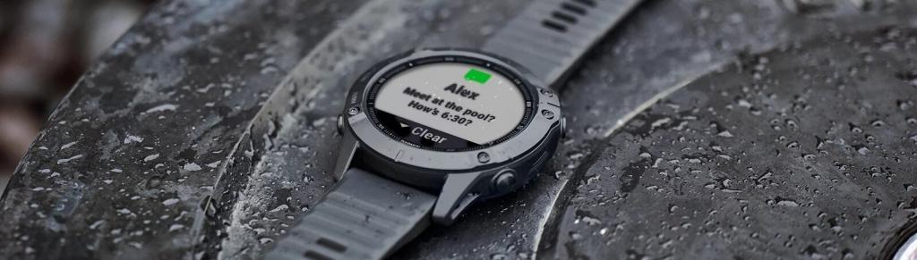 Chytré hodinky Garmin Fenix 6X Pro Glass