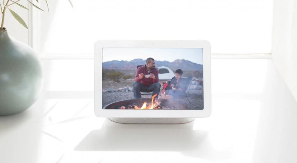 Digitálny fotorámček Google Home Hub