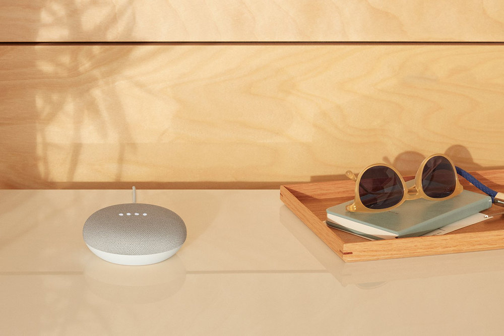 Google Home mini Chalk