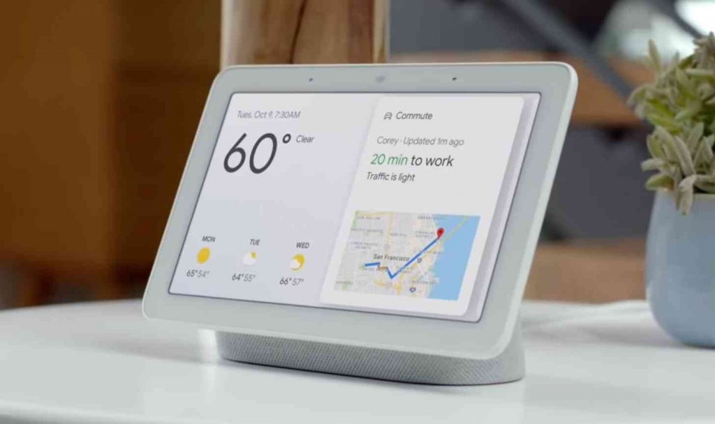 Asistent Google Home Hub