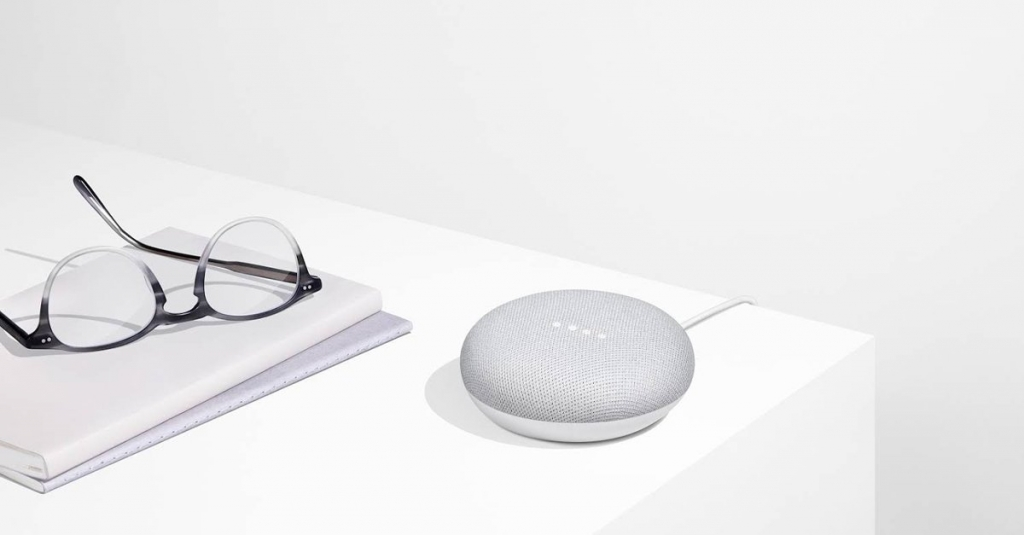 Google asistent Google Home mini Chalk