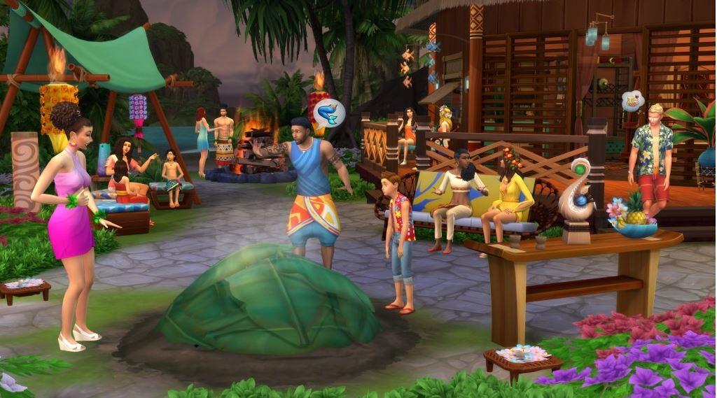 PC hra - The Sims 4 hra - Život na ostrove