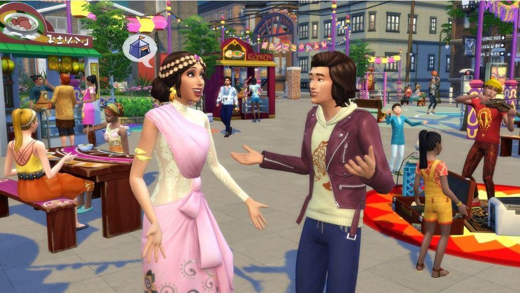 PC hra - The Sims 4 hra - Život ve městě