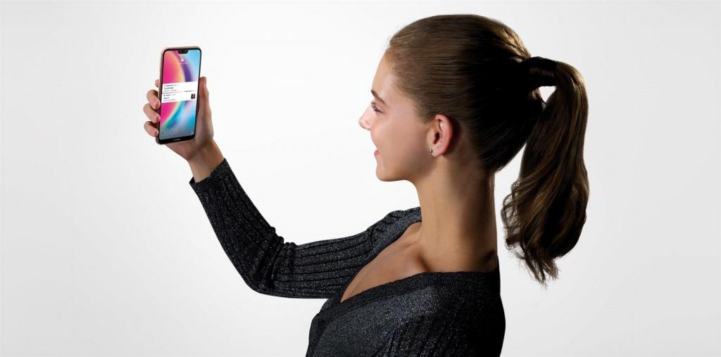 Huawei P20 LITE - odomykanie pomocou tváre