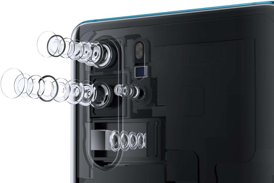 Trojitý fotoaparát Huawei P30 PRO