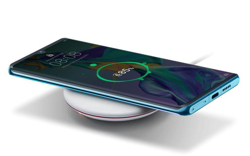 Bezdrôtové nabíjanie Huawei P30 PRO