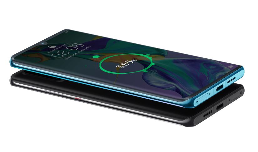 Reverzné nabíjanie Huawei P30 PRO