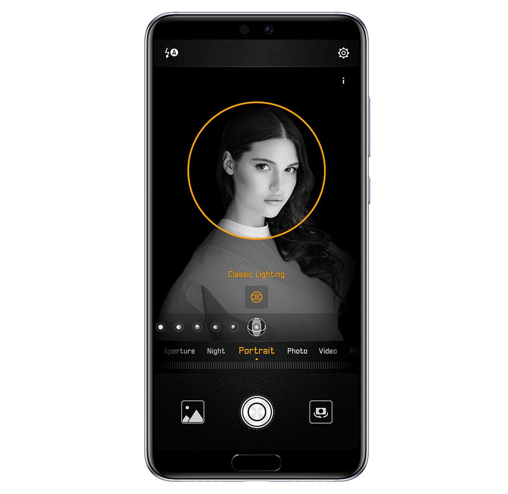Režim portrétu Huawei P20