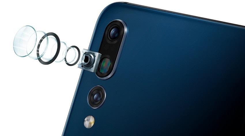 Trojitý fotoaparát Leica Huawei P20 PRO