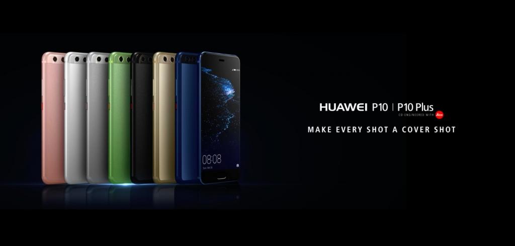 Farebné varianty Huawei P10