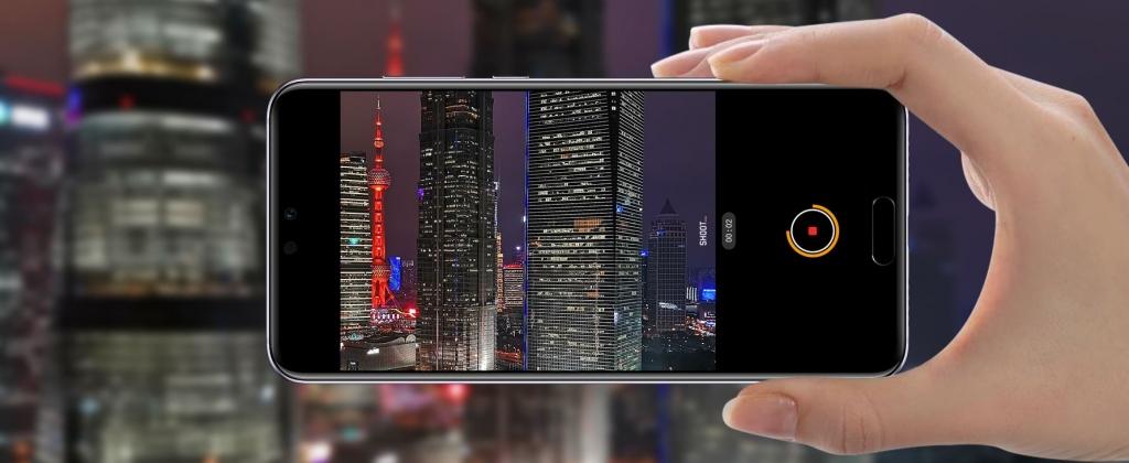 Technológia spomalených záberov Huawei P20