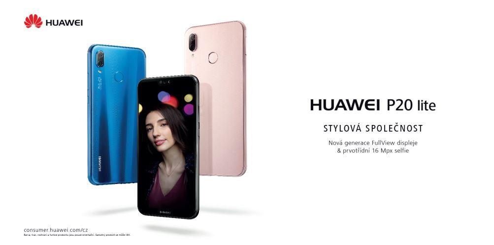 Farebné varianty Huawei P20 LITE