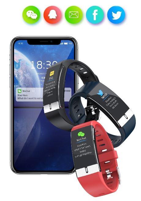 Chytré hodinky Immax Temp Fit