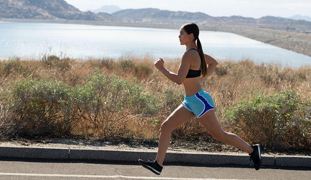 Bluetooth slúchadlá JBL Endurance Run BT zelené