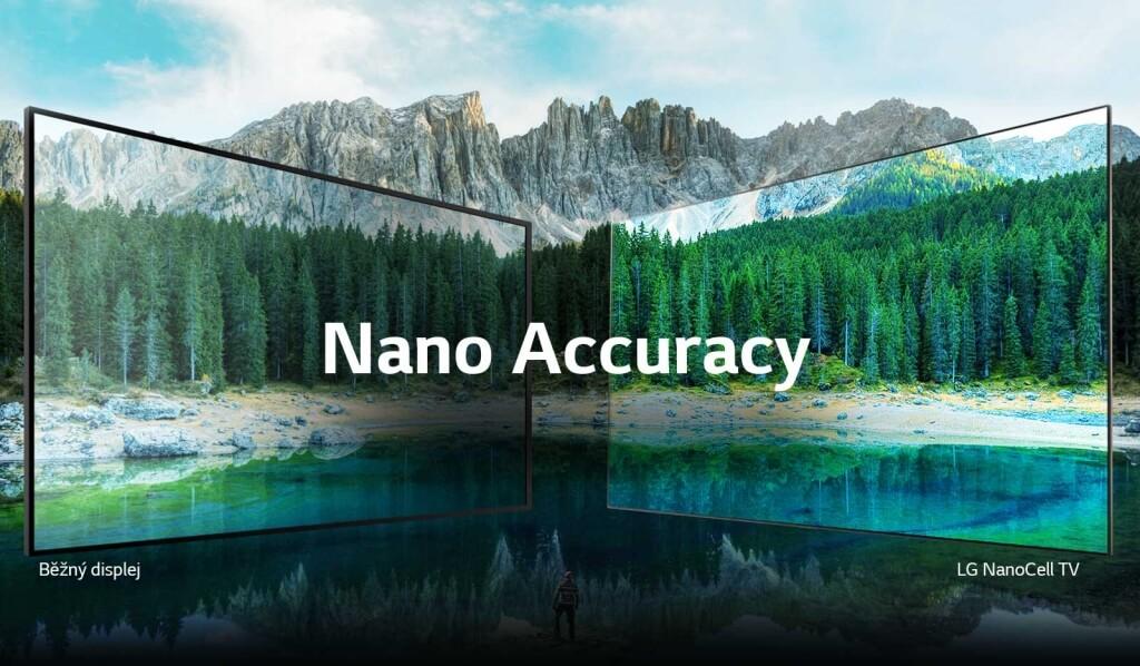 Rozdiely v zobrazení medzi bežnou TV a LG Nanocell TV
