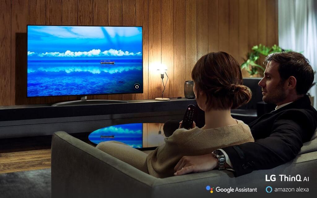 LG TV s technológiou LG ThinkQ AI